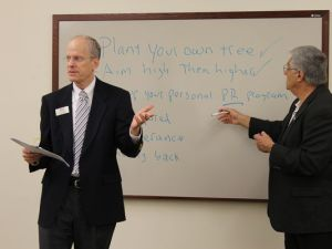 Image of Tom and Bill conducting workshop
